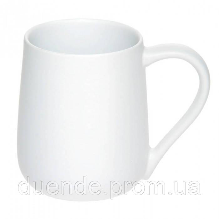 Керамическая чашка Муза 320 мл., Белый, от 10 шт / su 88200506
