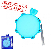 Бутылка для воды синяя Remax Mini Gear Lucky Cup