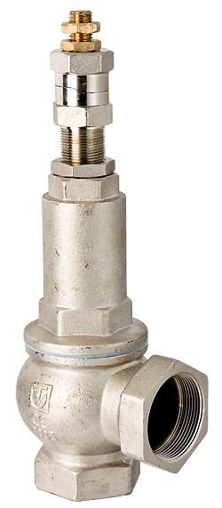 """Клапан запобіжний 1"""" пружинний регульований Valtec 1-12бар VT.1831"""