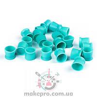 Емкости силиконовые бирюзовые 14 мм (100 шт)