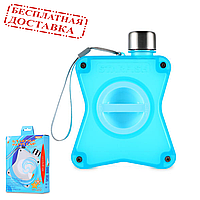 Бутылка для воды голубая Remax Starfish Happy Cup