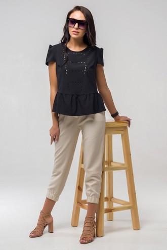 Блуза Мускари ПМБ 2243 чёрный