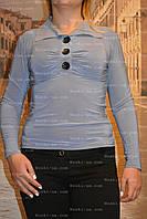 Рубашка женская, р.46-48. голубой, салат,серый
