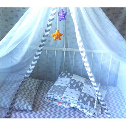 Постільна білизна Зигзаг удачі ранфорс Люкс ТМ Царський будинок в ліжечко, фото 2
