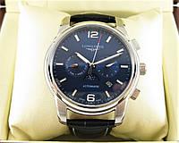 Часы Longines Heritage Automatic 40mm Silver/Drak Blue. Replica: AAA, фото 1