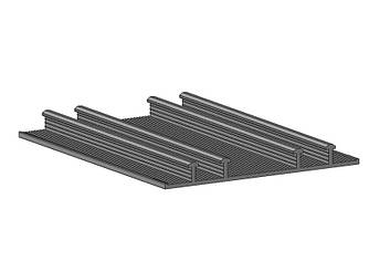 Внешняя гидрошпонка для деформационных швов НД 240