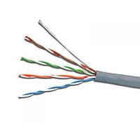 UTP 4х2х0,51 Cu ПВХ серый ElectroHouse (EH.LAN-27)