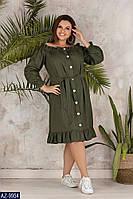 Стильное платье    (размеры 50-56)  0181-10, фото 1