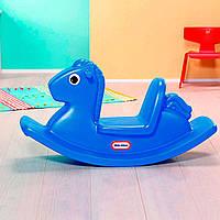 Детская качалка ВЕСЕЛАЯ ЛОШАДКА синяя Little Tikes 427900072
