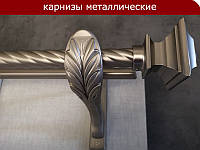 Карниз двойной Классик 25+19мм Верди сатин /
