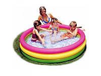 Детский надувной бассейн  Intex 57422 Радуга 147х33см