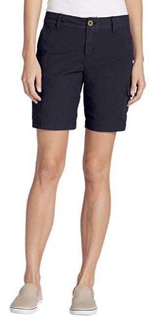 Шорти Eddie Bauer Adventurer Stretch Ripstop Bermuda Shorts - Slightly Curvy 8US