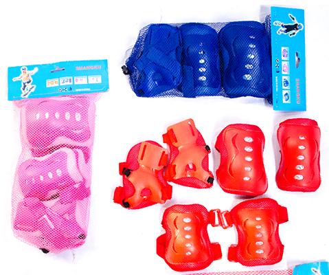 Детская защитная экипировка наколенники налокотники защита запястья цвета в наличие