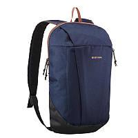 Синий спортивный, прочный, тканевый рюкзак Quechua 10L