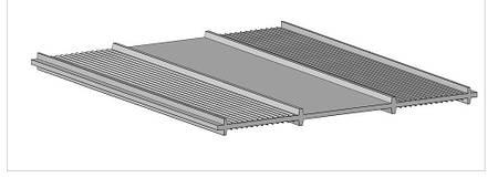 Внешняя гидрошпонка для рабочих швов НР 500