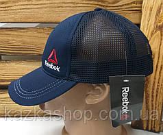 Мужская кепка, тракер, сзади сетка, вышивка в стиле Reebok (реплика), размер 54-56, на регуляторе, фото 2