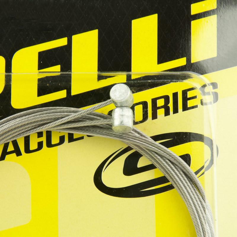 Трос велосипеда тормозной Spelli ABC-1800-SS Slick Полированный, 2 шт.