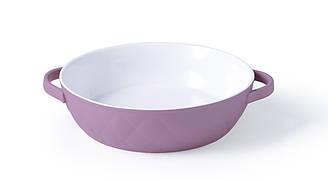 Форма для запекания керамическая круглая КОКО 19х5 см 0,7 л Fissman 6171