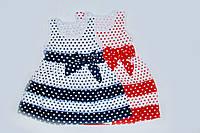 Детское платье на девочку Горох на 1-4 года Ростовка