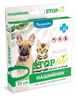 Нашийник ProVet Біо від бліх і кліщів для кішок 35 см