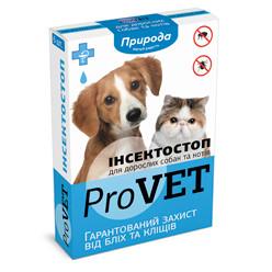 Капли ProVet Инсектостоп от блох и клещей для кошек 1 шт