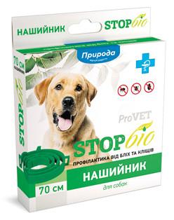 Нашийник ProVet Біо від бліх і кліщів для собак 70 см