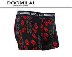 Мужские боксеры стрейчевые из бамбука  Марка  «DOOMILAI» Арт.D-01188, фото 2
