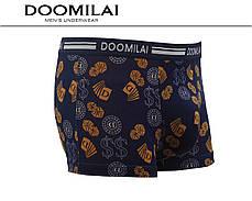 Мужские боксеры стрейчевые из бамбука  Марка  «DOOMILAI» Арт.D-01188, фото 3
