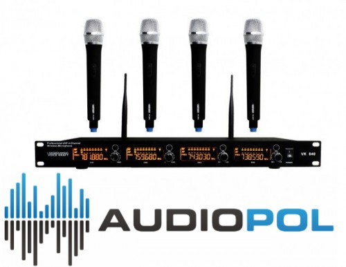 Микрофони Voice Kraft VK 840