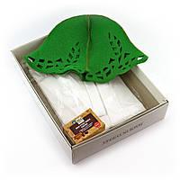 Подарочный набор для сауны №5 Зайка, для нее