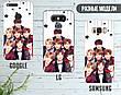 Силиконовый чехол для Huawei P smart Plus BTS ARMY (17148-3174), фото 5