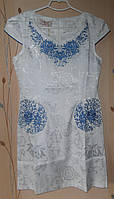 Нарядное платье с элементами вышивки, фото 1