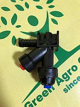 Форсунка конечная с боковым отсекателем Agroplast 0-100/08/K на опрыскиватель.