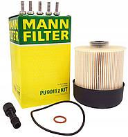 Топливный фильтр на Рено Дастер 1.5 dCI K9K дизель MANN PU 9011 zKIT