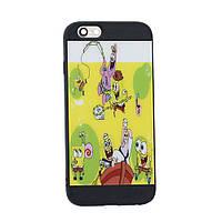 Задняя Накладка Цветная Iphone 6 Цвет Спанч Боб