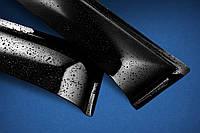 Дефлекторы на боковые стекла Hyundai Santa Fe III 2012 ANV air, фото 1
