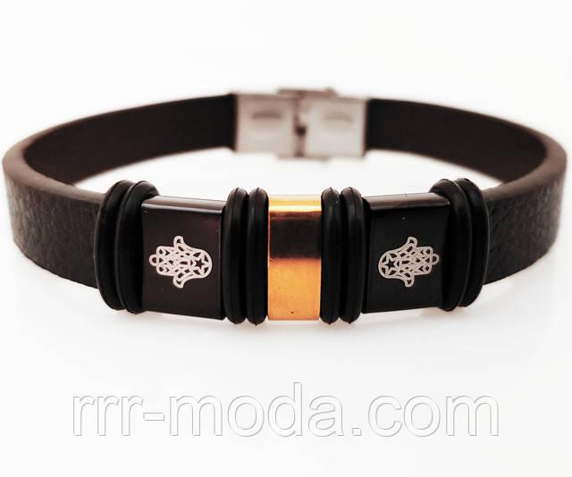 Широкие, тёмные силиконовые мужские браслеты со сталью оптом.