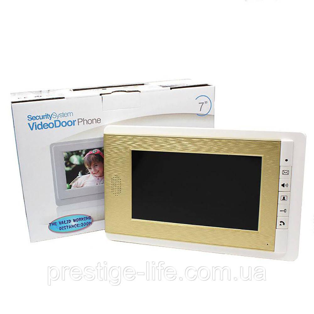 Домофон WJ708TC8 Сенсорный Экран