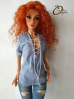 Авторская шарнирная кукла Эйлин, МСД. Полиуретан, фото 1