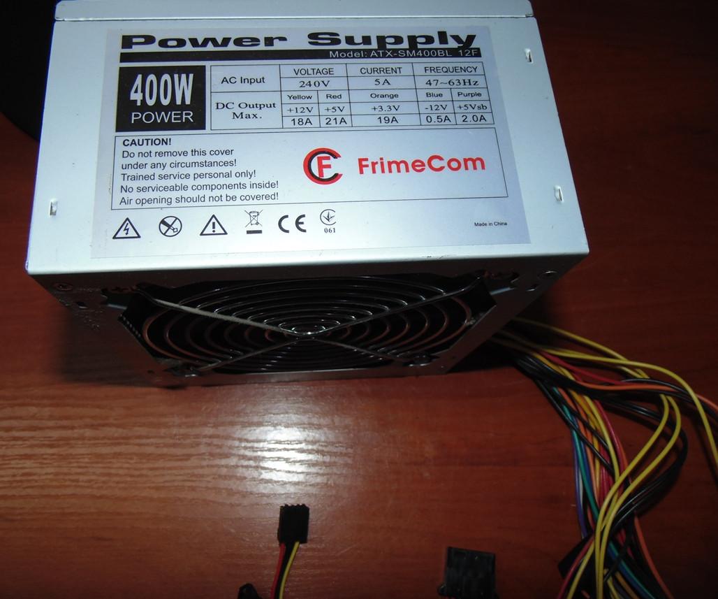 400W Блок питания FrimeCom ATX-SM400BL 12F
