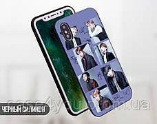 Силиконовый чехол для Apple Iphone 8 (BTS группа), фото 3