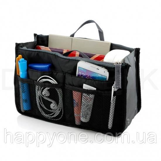 Органайзер в сумку Bag in Bag (черный)