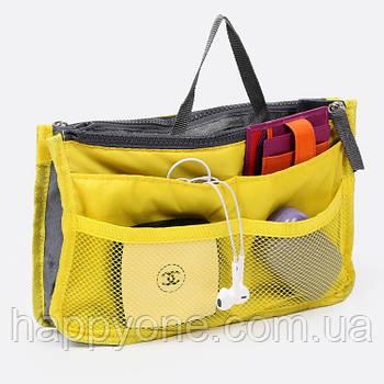 Органайзер в сумку Bag in Bag (желтый)