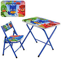 Детский столик и стульчик (A19-PM)