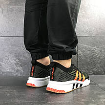 Кроссовки мужские Adidas Equipment adv 91/18,зеленые с оранжевым, фото 2
