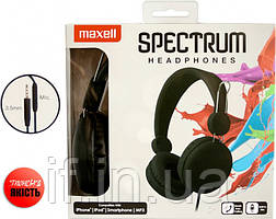 Дротові навушники Maxell Spectrum Hp Black (4902580770785)