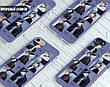 Силиконовый чехол для Samsung J700H Galaxy J7 (BTS группа), фото 3