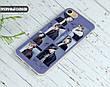 Силиконовый чехол для Samsung J700H Galaxy J7 (BTS группа), фото 4