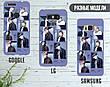Силиконовый чехол для Samsung J700H Galaxy J7 (BTS группа), фото 5