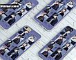 Силиконовый чехол для Samsung N950 Galaxy Note 8 (BTS группа), фото 3